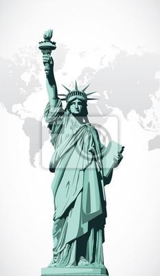 Vector Statue of Liberty
