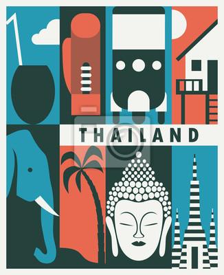 Vector Thailand background