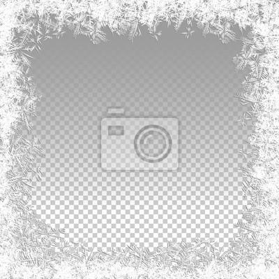 Sticker Vektor Gefrorene Hintergrund