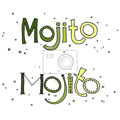 Vektor-Illustration der Cocktail Mojito