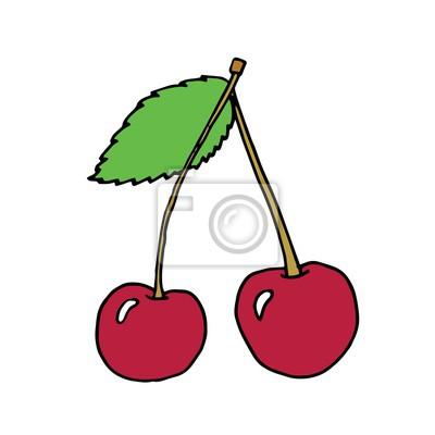 Vektor-Illustration der Kirsche