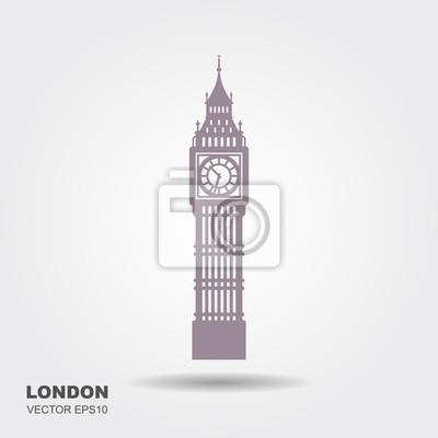 Vektor-Illustration von Big Ben Tower