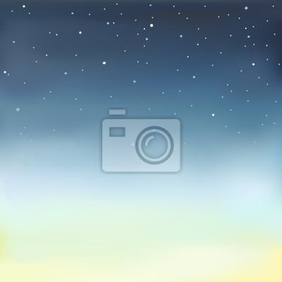 Vektor-Illustration von einem Sternenhimmel.