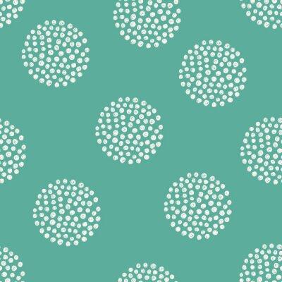 Sticker Vektor-Muster von Hand gezeichnet Punkte.