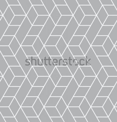 Sticker Vektor nahtlose Muster. Moderne stilvolle Textur. Wiederholte geometrische Kacheln mit Dreiecken.
