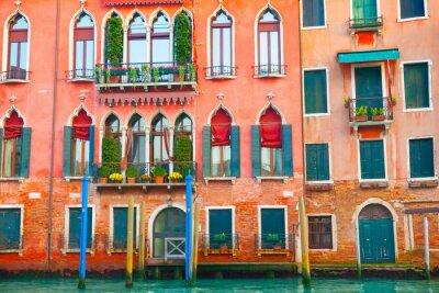 Sticker Venedig Gebäude auf dem Canal Grande