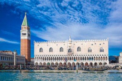 Sticker Venedig mit Markusplatz in Italien