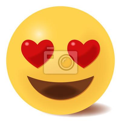 Smiley verliebtes rarrododast