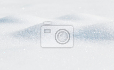Sticker Verschwommene Schnee Details