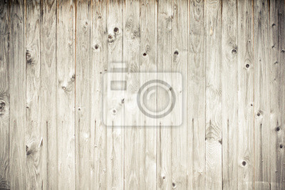 verwittertem Holz Bretterzaun