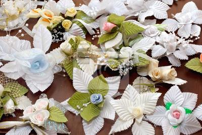 Sticker Viele kleine Hochzeit schön boutonniere