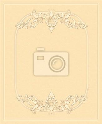 Vintage background, geprägtes Papier, Grußkarten, Einladungen