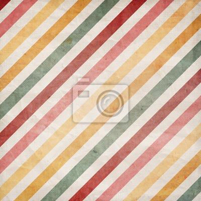 Vintage diagonal stripes pattern