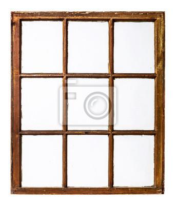Sticker vintage sash window panel