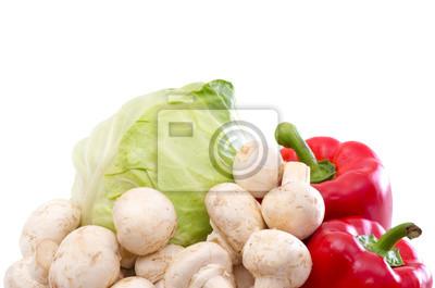 Vitamin Sammlung Gemüse
