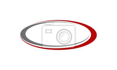 Sticker Vorlage Emblem Leer