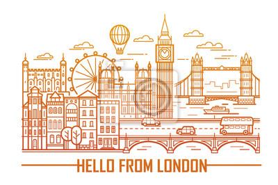 Wahrzeichen der Londoner Stadt