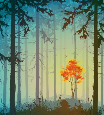 Sticker Wald