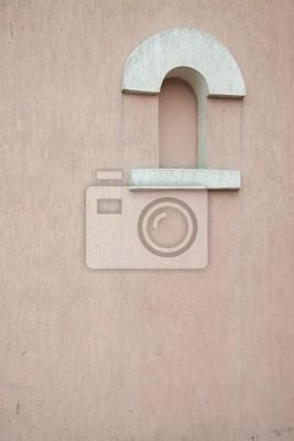 Wand mit Fenstern
