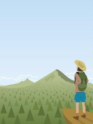 Wandern Landschaft