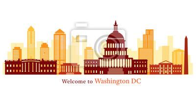 Washington DC, Landmarks, Skyline and Skyscraper