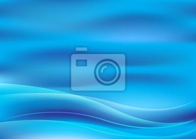 Wasser abstrakt Hintergrund, Vektor-Illustration Welle