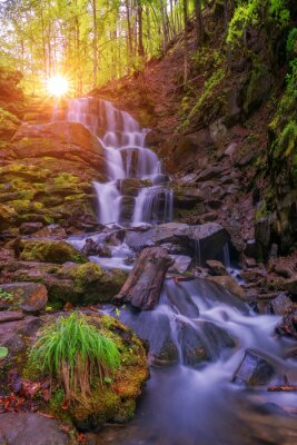 Sticker Wasserfall