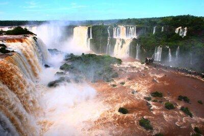 Sticker Wasserfall / Iguazu Falls in Argentinien