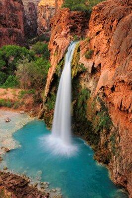 Sticker Wasserfall im Grand Canyon, Arizona, USA