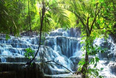 Sticker Wasserfall in Mexiko