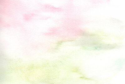 watercolor wash pink and green background texture