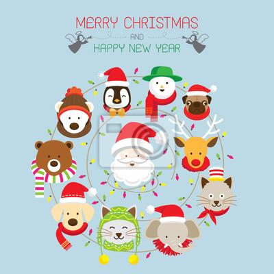 Weihnachten: Weihnachts & Tiere