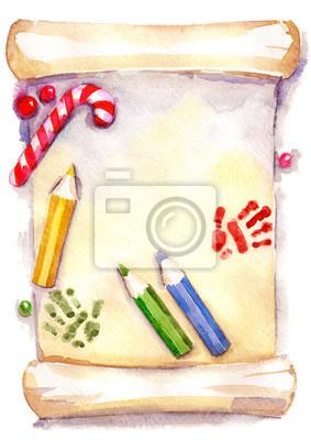 Weihnachten Wunschzettel