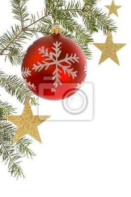 Sticker Weihnachtlicher Hintergrund