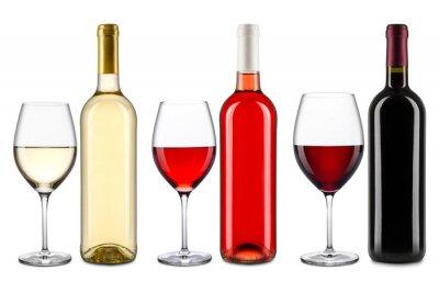Sticker Wein-Sammlung