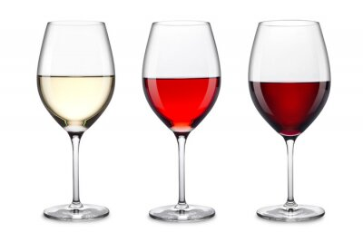 Sticker Weinglas-Set