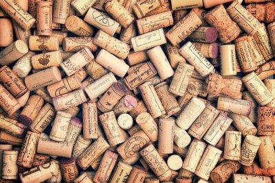 Sticker Weinkorken Hintergrund
