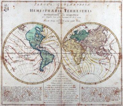 Sticker Weinlese-Karte