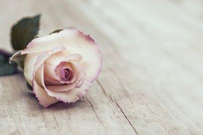 Sticker Weinlese-Rose