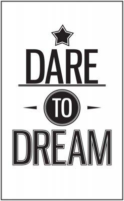 Weinlese-Typografie im Angebot. Herausforderung zum Traum