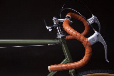 Sticker Weinlesefahrradlenker