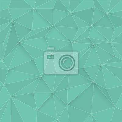 Weiß 3D Dreieck Muster, nahtlose Vektor. Weiße Design-Textur. Weiß Niedrige Poly Muster Hintergrund