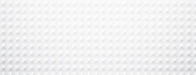 Sticker Weißbuch quadratisch texturierte Banner.