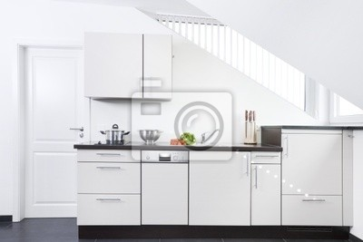 Sticker Weiße Küchenzeile