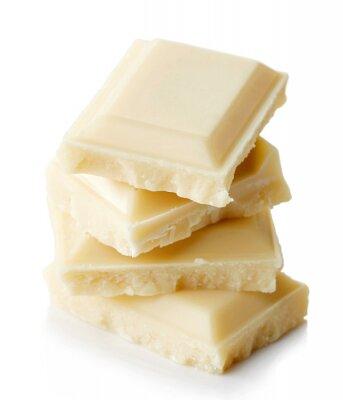 Sticker Weiße Schokolade