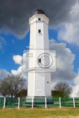 Weißer Leuchtturm