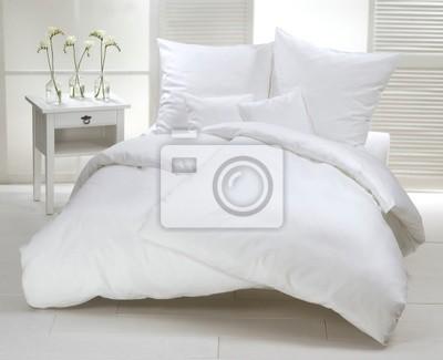 Sticker Weißes Doppelbett