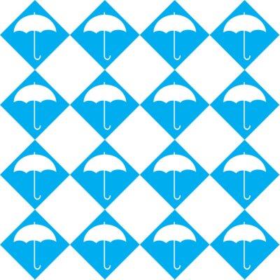 Sticker White Umbrella