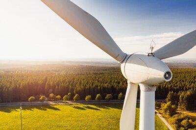 Sticker Wind Turbines Windmill Energy