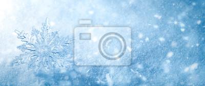 Sticker Winter Schnee Hintergrund